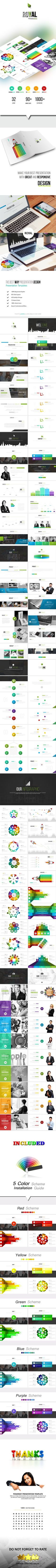 ROYAL - Google Slides Pitch Deck Templates - Google Slides Presentation Templates