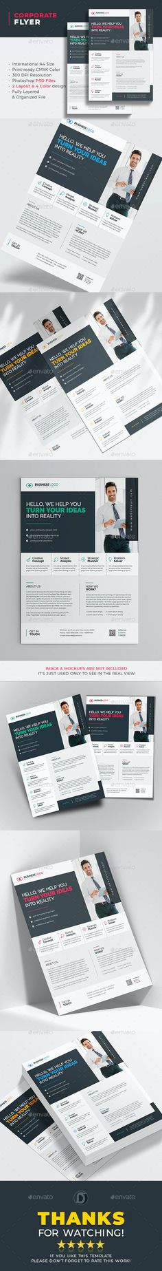 Corporate Flyer Templates by didargds | GraphicRiver