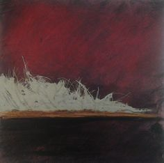 Serena Barton's Blog: Strata of Time: Work from my cold wax/oil class at collage