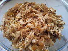 Hcg Diet Journey: Shredded Tex-Mex Crock-Pot Chicken