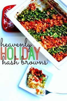Isn't it funny how certain holidays or occasions make you begin to salivate over certain types of foods that you normally wouldn't prepare any other time of year. That's what happens to me at least when it comes to heavenly holiday hash browns. Prime Rib Au Jus, Prime Rib Roast, Rib Recipes, Potato Recipes, Yummy Recipes, Holiday Recipes, Christmas Recipes, Holiday Ideas