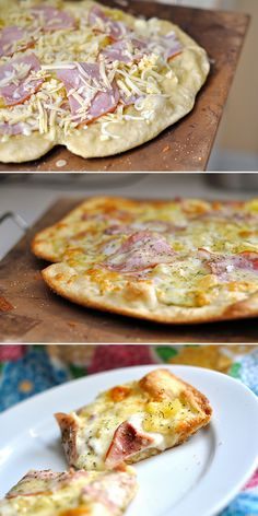 The Perfect Thin and Crispy Pizza Crust   Homemade Food Recipes