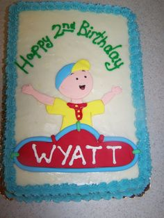 caillou cakes - Google Search