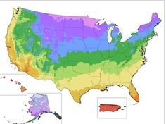 "The U.S. Department of Agriculture  released a new version of its ""Plant Hardiness Zone Map"" this week, the first update since 1990. The color-coded zones on this map of the United States are widely used as a guide for what perennial flowers will survive in a particular area, or when to plant your vegetables."