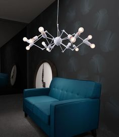 Zuo Sleet Ceiling Lamp White