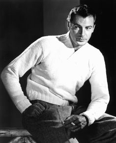 Gary Cooper Old Hollywood Actors, Hollywood Photo, Golden Age Of Hollywood, Vintage Hollywood, Hollywood Glamour, Hollywood Stars, Gary Cooper, Old Movie Stars, Classic Movie Stars