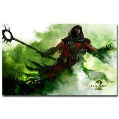 Guild Wars 2 Hot Game Silk Poster Art Print 13x20 24x36inch 012