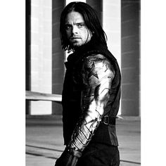 Pinterest ❤ liked on Polyvore featuring bucky, sebastian stan, phrase, quotes, saying and text