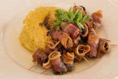 Brescia lumache alla bresciana e polenta taragna
