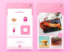 Gift Mall application APP by whitton #Design Popular #Dribbble #shots