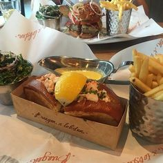 Weekend indulgence @burgerandlobsterdubai #cheatday #ditchthediet #diningindubai #foodsceneindubai #mydubai