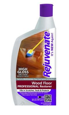 Instead of tearing out your hardwood floors, just clean and polish them. Rejuvenate rates 4.7 out of 5 by our customers. Hardwood Floor Care, Hardwood Floors Restore, Hardwood Floor Cleaner, Household Cleaning Tips, Cleaning Hacks, Carpet Flooring, Home Hacks, Polish, Satin Finish