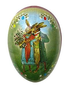 Made In Germany Papier Paper Mache Easter Egg by 32NorthSupplies, $4.25