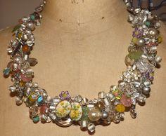 "One of Angela Resendiz's ""Garbage"" Necklaces"