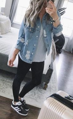 Denim, Jackets, Fashion, Moda, Jacket, Fasion, Jeans Pants, Cropped Jackets, Jeans