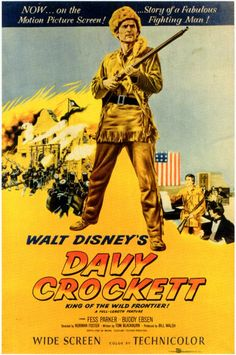 """DAVEY CROCKETT"".  (1955).  ~~ I loved this show..."