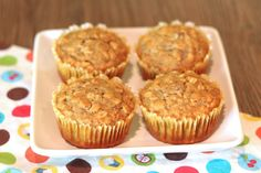 gluten free honey oat muffins.  no eggs, dairy, or refined sugar.