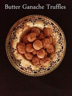 Simple (and simply perfect!http://www.blog.provocolate.com/2015/11/delicate-truffles-with-butter-ganache.html):