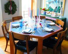 Little Green Notebook: Dinner Party at My Place!