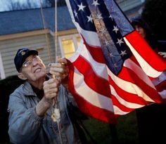 WWII Medal of Honor winner Van Barfoot fought for the right to fly a U.S. flag in his front yard - and won.