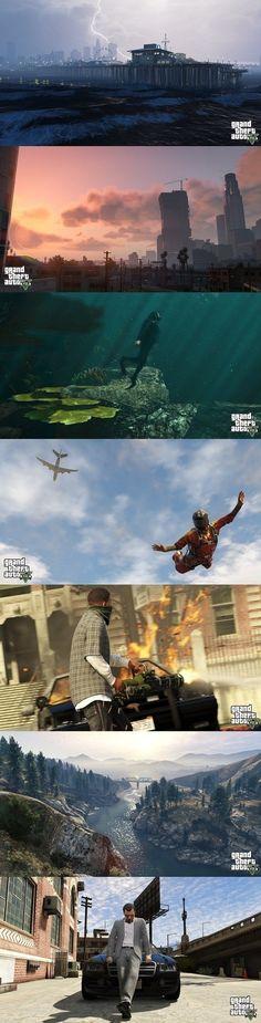 GTA 5 lijkt mij een leuke game. Met het oog op de versie die ik eerder gespeeld heb is het spel enorm vooruit gegaan qua graphics. Er zijn enorm veel avonturen die je aan kunt gaan in de game en de game lijkt daarom bijna levensecht.