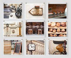 Paris in Brown from The Paris Print Shop