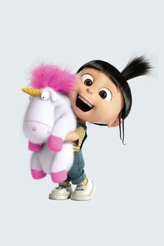 Buy 4 Inch Agnes Fluffy Unicorn Despicable Me 2 Minion Removable Wall Decal Sticker Art Home Decor Kids Room Inch Wide By 4 Inch Tall Agnes Despicable Me, Unicornios Wallpaper, Wallpaper Backgrounds, Disney Phone Wallpaper, Cute Cartoon Wallpapers, Cute Drawings, Cartoon Characters, Fictional Characters, Heroes Wiki