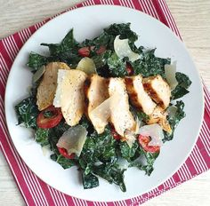 Caesar salad leaves the 90s with this kale twist.Get the recipe: Kale Caesar Salad with Grilled Chic... - Anna Watson Carl