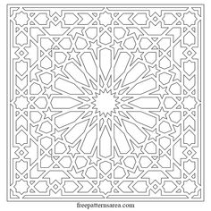 If you are making decisions about changing the interior decor of your home, get your family involved. Geometric Patterns, Tile Patterns, Islamic Art Pattern, Arabic Pattern, Geometric Drawing, Geometric Art, Vector Pattern, Pattern Art, Pattern Images