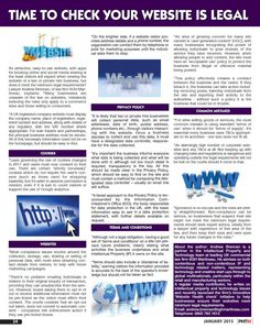 Client: SGH Martineau Outlet: PHTM Topic: Website Legal (IP)