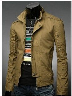 New 2013 Mens jacket Outerwear mans clothing Fashion Korean Style Brand Men The Casual Coat Suit Free Shipping-inJackets from Apparel & Accessories on Aliexpress.com