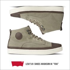 "Levi's® Shoes Hughson Hi ""Fog"""