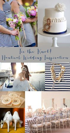 nautical bridal shower ideas | Tags: nautical wedding , wedding inspiration and planning , wedding ...