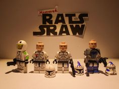 Lego Star Wars minifigures - Clone Custom Fives ONE OFF SPECIAL!