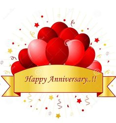 happy anniversary card in red letters with beautiful red Happy Marriage Anniversary Card Design 2019 - Make Wedding Invitations Happy Anniversary Clip Art, Free Printable Anniversary Cards, Happy Wedding Anniversary Cards, Marriage Anniversary Cards, Anniversary Quotes Funny, Happy Anniversary Cakes, Work Anniversary, Anniversary Greeting Cards, Anniversary Pictures