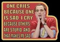 oh Sheldon you crack me up