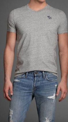 Abercrombie and Fitch Mens V neck