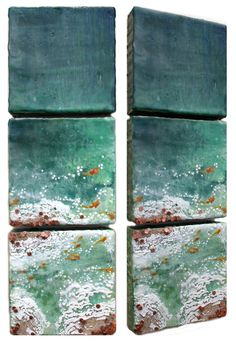 Robin Luciano Beaty: New triptychs