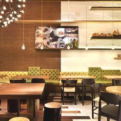 Sensational Coffee Shop Design of the Gaga Deli: Elegant Gaga Restourant Interior Design Minimalist Furniture Ideas ~ novavn.com Modern Home Designs Inspiration