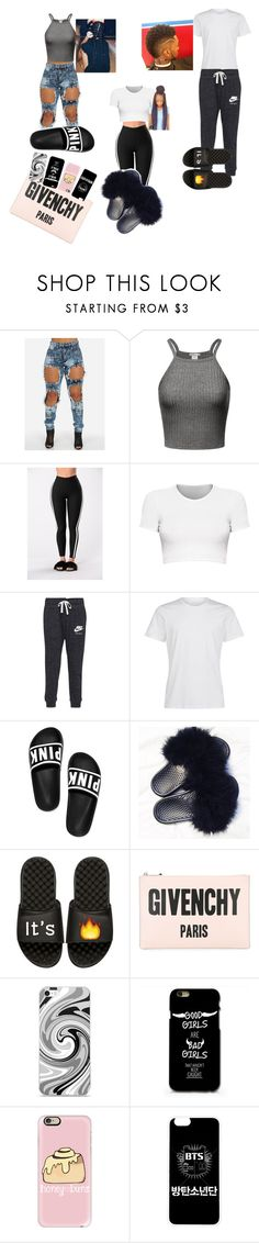 """I need to apologise not for being fake but for being a bad friend"" by lilzaddyriah ❤ liked on Polyvore featuring NIKE, iSlide, Givenchy and Casetify"