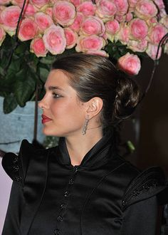Charlotte Casiraghi arrives at the 2008 Monte Carlo Rose Ball 'Movida' held at The Sporting Monaco on March 29 2008 in Monte Carlo Monaco