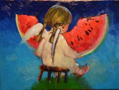 Watermelon angel