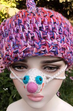 #SmilingNoseWarmer, #NoseCozy, #FunnyNoseHat, #CrochetFaceCover, #WinterOutdoorActivity, #NoseProtector, #FaceMask, #JokeGag, #Florfanka Winter Outdoor Activities, Nose Warmer, Crochet Hats, Beanie, Cozy, Smile, Funny, Knitting Hats, Funny Parenting