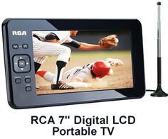 Chance to Win an RCA 7″ Digital LCD Portable TV