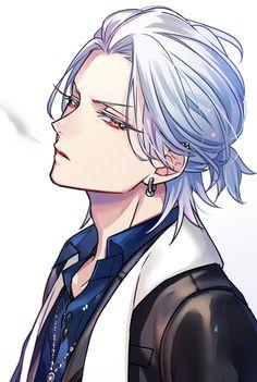 Hot Anime Boy, Cool Anime Guys, Handsome Anime Guys, Anime Sexy, Anime Oc, Chica Anime Manga, Anime Guy Long Hair, Character Inspiration, Character Art