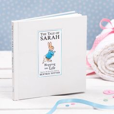 Published to celebrate the 150th Anniversary of Beatrix Potter, exclusive to notonthehighstreet this beautifully designed book features a brand new story for you to personalise.