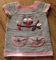 ♪ ♪ Crochê Vestido de Natal de Bebê  ♪ ♪  / ♪ ♪  Crochet Baby Christmas Dress  ♪ ♪ Crochet Baby Clothes, Crochet Baby Dress Pattern, Baby Dress Patterns, Baby Girl Crochet, Crochet Flower Patterns, Cute Baby Clothes, Knit Crochet, Knitting For Kids, Crochet For Kids