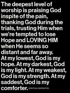 Trials and Praise