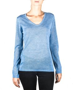 Damen Kaschmir Pullover V-Ausschnitt hellblau front Sweaters, Fashion, Cashmere Sweaters, Light Blue, Summer, Women's, Moda, Fashion Styles, Sweater