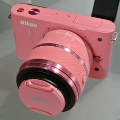 Camera in pink